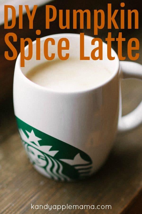 DIY Starbucks Pumpkin Spice Latte Syrup