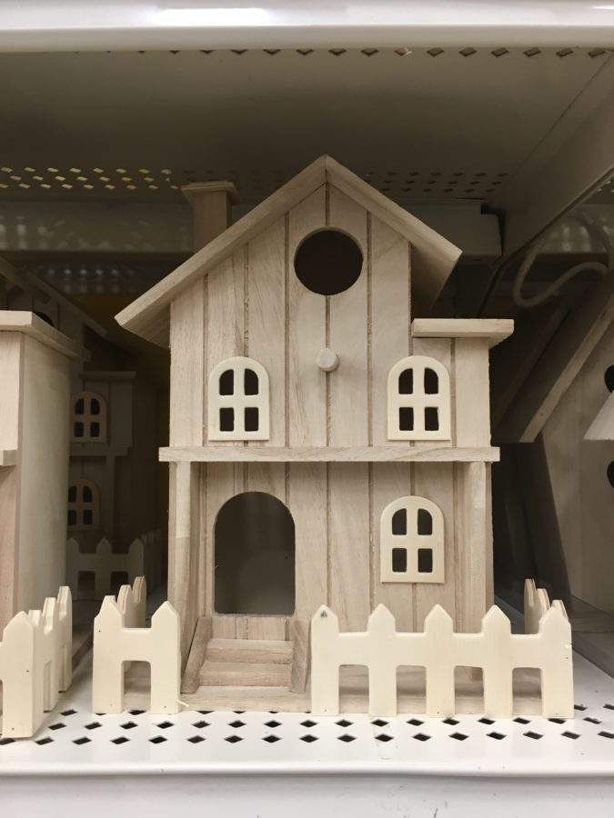 bird house wooden house