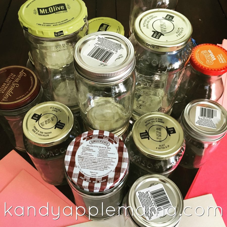 DIY Kids Savings Jars