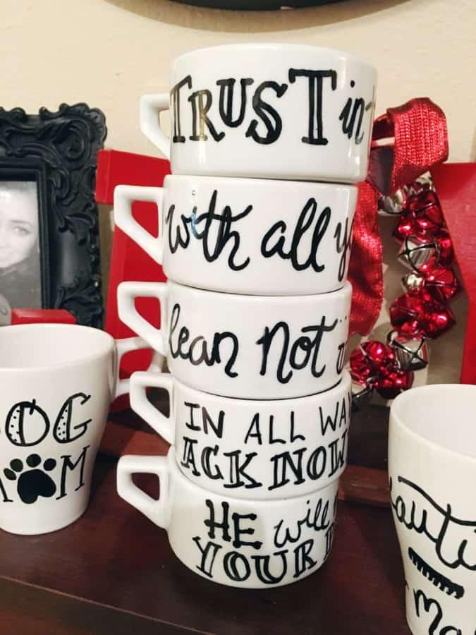 Bible Verse Mugs