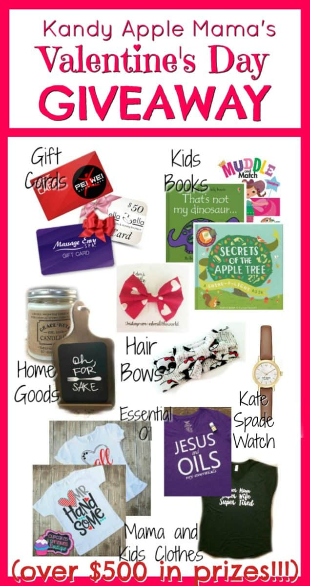KAM's Valentine's Day GIVEAWAY!