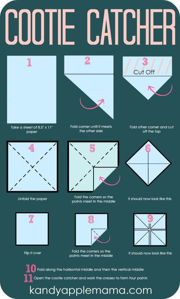 How to Make a Cootie Catcher! - YouTube | 997x600