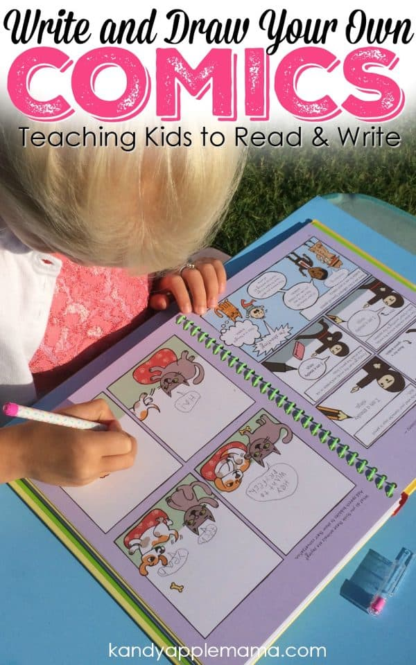 Forget Handwriting Worksheets - Write and Draw your own Comics!