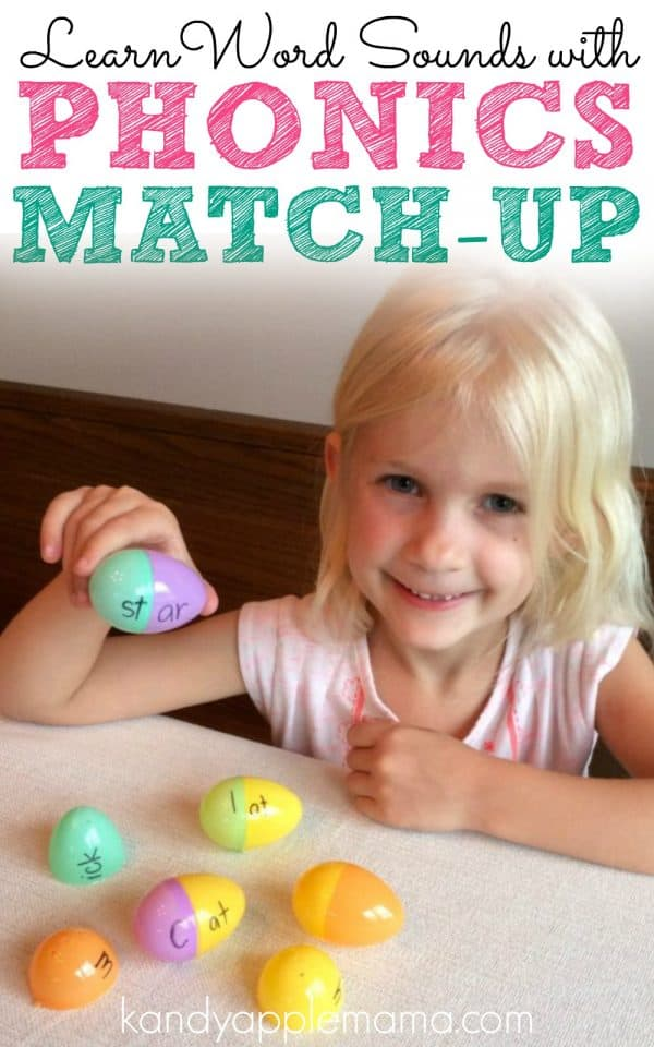 Learn word sounds with this fun Phonics Game! Build your own words with Phonics Match-up
