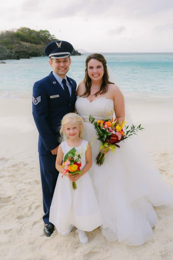 Our Blended Family Wedding