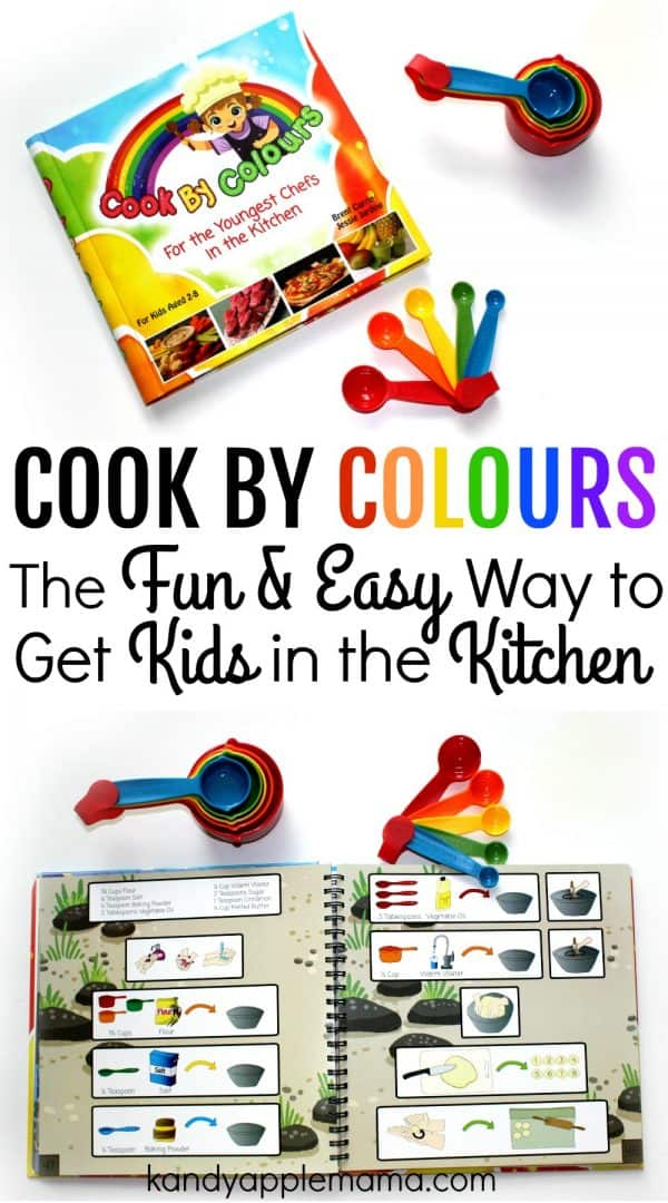 Teach kids to cook with colors!
