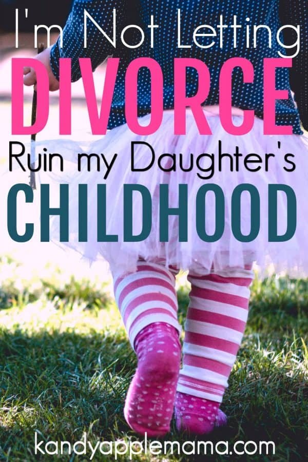 Child of divorce: I'm not letting my divorce ruin my daughter's childhood.