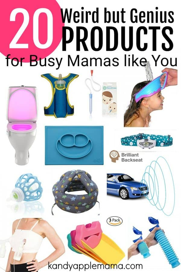 Weird but Genius products for busy moms like you!