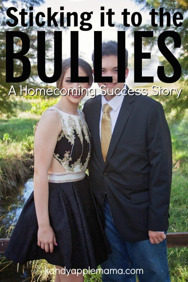 Sticking it to the bullies: a Homecoming success story.