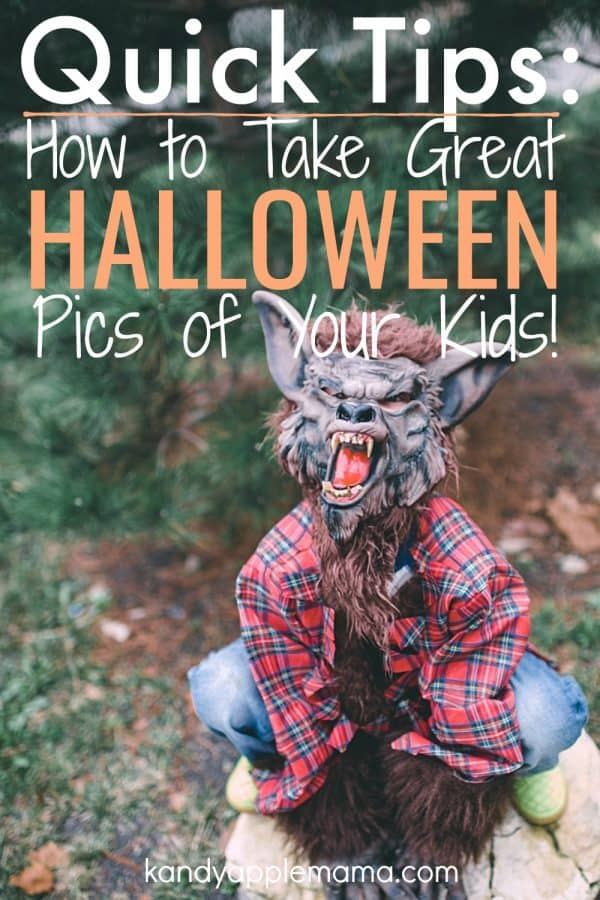 How to take Great Halloween Pics of your Kids