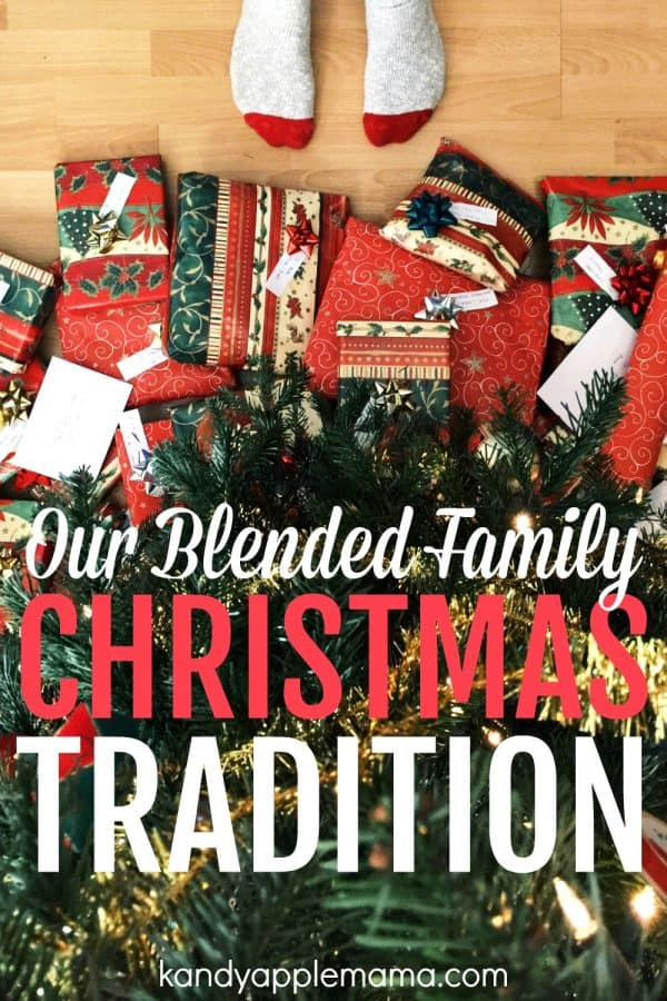 Our Blended Family Christmas Tradition