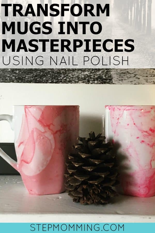 Transform Mugs into Masterpieces Using Nail Polish | DIY Watercolor Mugs | DIY Marbled Mugs | Decorate Your Own Mugs | Coffee Mug Decorations | DIY Marbled Coffee Mugs | DIY Watercolor Coffee Mugs | Nail Polish Coffee Mugs