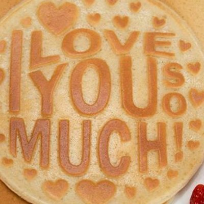 Breakfast in Bed: Make Your Own Valentine's Day Pancakes