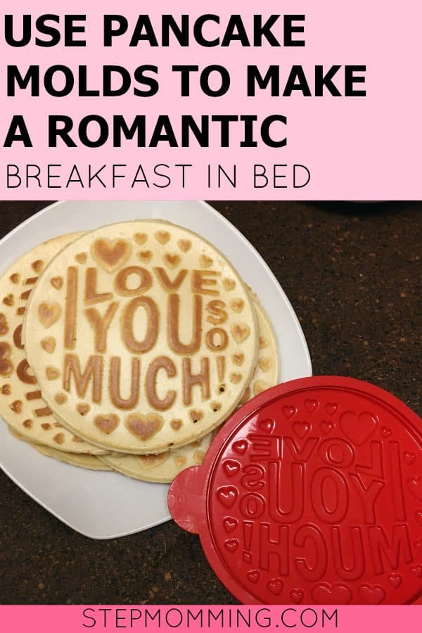 Use Pancake Molds to Make a Romantic Breakfast in Bed | Pancake Presents Pro Pancake Molds | Romantic Pancake Molds | Pancake Presents Review
