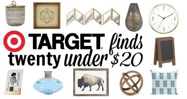 Target Home: 20 Stylish Finds for Under $20