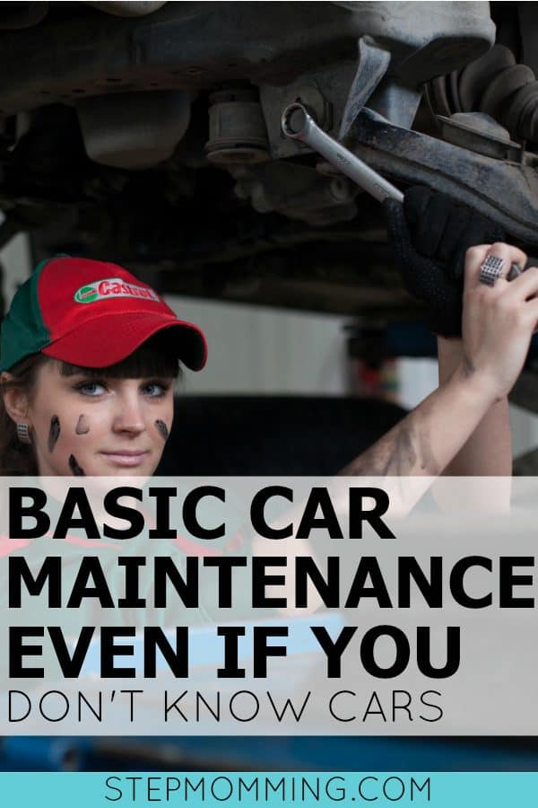 Basic Car Maintenance Even if You Don't Know Cars | Car Maintenance for Dummies | You Own a Car - Now What | How to Do Basic Car Maintenance | How to Change a Tire | How to Check Oil | How to Check Tire Pressure | How to Change Windshield Wipers | Car Maintenance for Moms Who Don't Know Cars | Basic Car Maintenance for Dummies | Things  You Need to Know as a Grown Up | The Adulting Manual