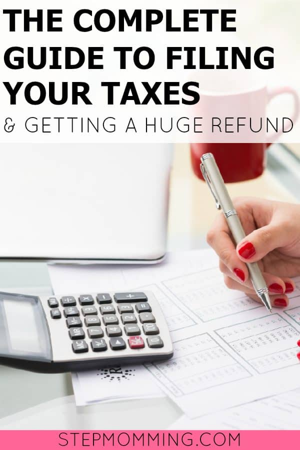 The Complete Guide to Filing Your Taxes and Getting a Huge Refund   How to File Your Taxes   Tax Refund   Small Business Owner Taxes   Filing Small Business Taxes