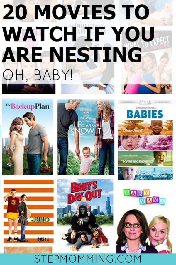 20 Movies to Watch if You are Nesting Oh Baby! | Pregnant and Nesting | Maternity Leave | Baby Movies | Pregnancy Movies | Movies to watch if you have baby fever