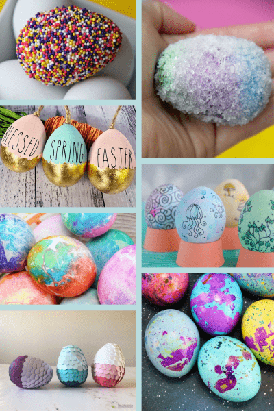 20+ Fun and Creative Ways to Decorate Easter Eggs
