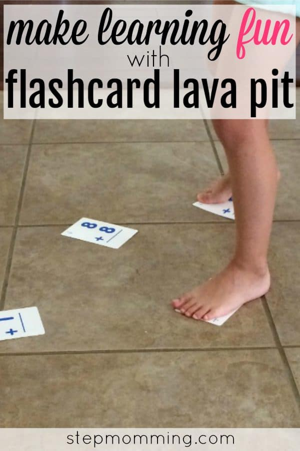 Fun Math Game | Flashcard Lava Pit | Learn Fast Math Facts | Homeschool Game | Homeschool Math Activity | Unique Flashcard Game | Learning Addition