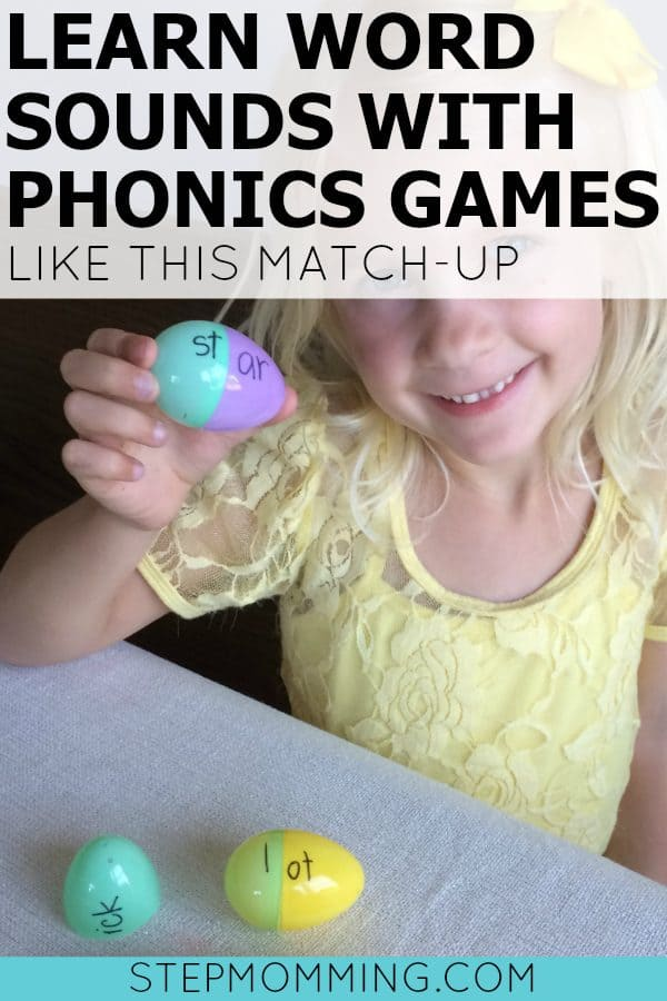Phonics Game | Phonics Match-Up | Easter Egg Game | English Game | Usborne Books | Phonics Series | Learn Word Sounds Homeschooling | Educational Game | Learning Game | Beyond the Classroom | Stepmomming