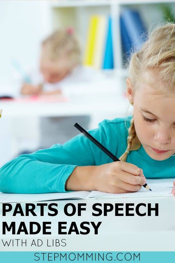 Parts of Speech Made Easy with Ad Libs | Parts of Speech Game | Parts of Speech Activity | Learn Parts of Speech