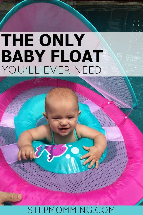 The Only Baby Float You'll Ever Need | SwimWays Baby Float | Teaching Baby to Swim | Introducing Baby to Swimming