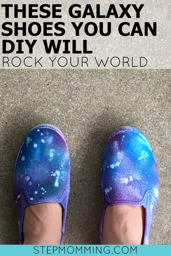 These Galaxy Shoes You Can DIY Will Rock Your World | DIY Galaxy Shoes | DIY Tie-Dye Galaxy Shoes | DIY Tie-Dye Shoes | Tie-Dye Tutorial | Summer Kid Activity | Easy Shoe Decoration Tutorial