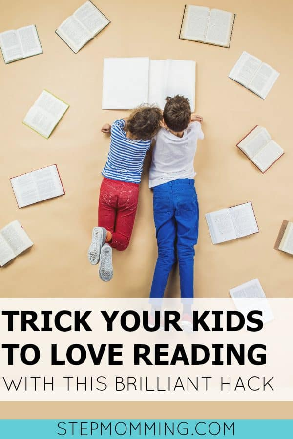 Trick Your Kids to Love Reading with this Brilliant Hack | Getting Children to Read | Homeschooling Reading Activity | How to Raise a Reader | Mom Life hack