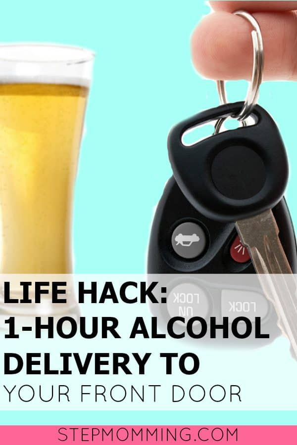 Life Hack One Hour Alocohol Delivery to your Front Door | Uber for Booze | How to Get Alcohol Delivered to Your House
