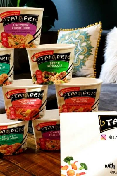 Eliminate Dinner Boredom with Tai Pei – From Meal Time to Craft Time!