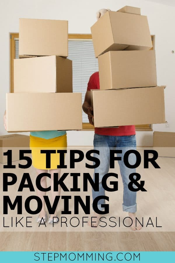 15 Tips for Packing and Moving Like a Professional | How to Pack Your House | Packing Tips for Moving | Moving and Packing Tips | Moving Tips | Tips to Make Moving Easier | Packing my House