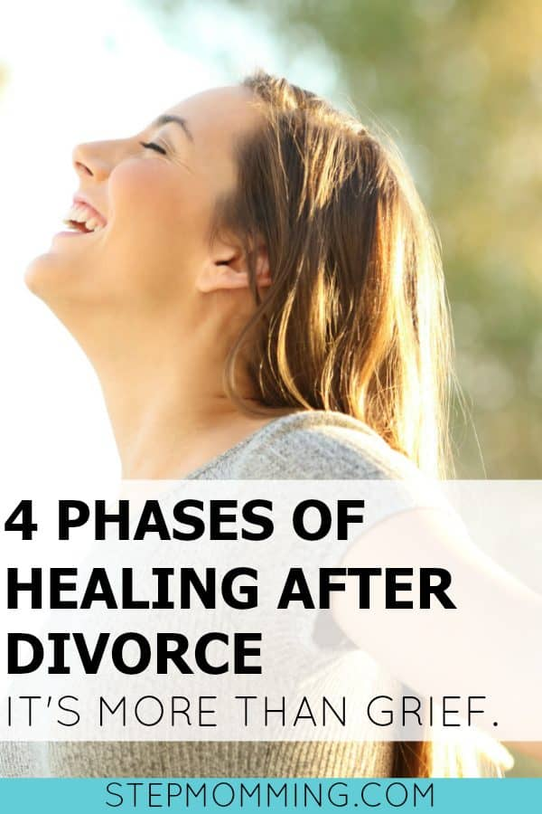 4 Phases of Healing After Divorce It's More Than Grief | Moving on After Divorce | How to Grieve Your Divorce | Moving On Past Divorce