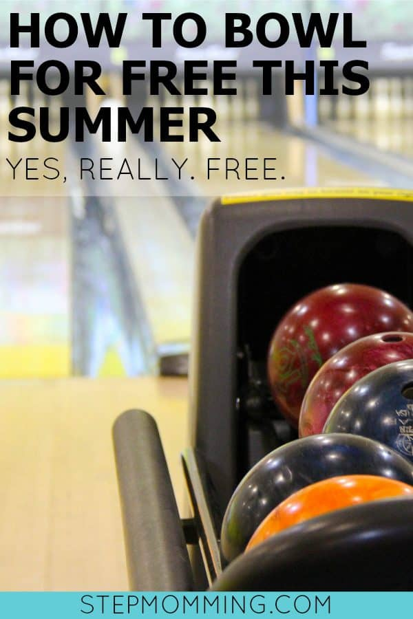 How to Bowl For Free This Summer | Kids Bowl Free Program | Free Summer Activities for Kids | Stepmomming