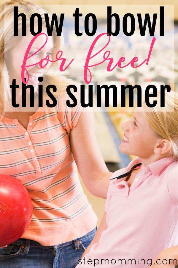 Kids Bowl Free This Summer | Inexpensive Kids Summer Activities | How To Bowl For Free This Summer | Kids Bowling Hack