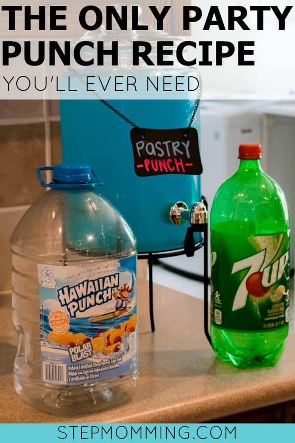 The Only Party Punch Recipe You'll Ever Need | 2 Ingredient Party Punch Recipe | Party Drinks | Kids Party Punch Recipes | Easy Party Punch Recipe | Easy Kids Party Punch Recipe