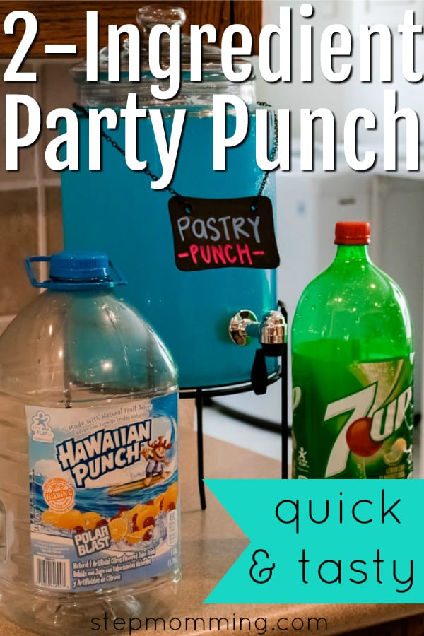Tasty and Easy Party Punch | 2 Ingredient Punch | 2 Ingredient Party Punch | Easy to Make Punch | Easy Party Drink | Kids Birthday Drinks
