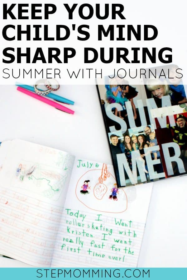 Practice Writing with Summer Journals | Overcome the Summer Slide with this Genius Parenting Hack | Elementary School Summer Writing Practice | Elementary Education Game | Elementary Handwriting Practice