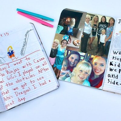 Avoid the Summer Slide while Having Fun with this Genius Parenting Hack: Summer Journals!