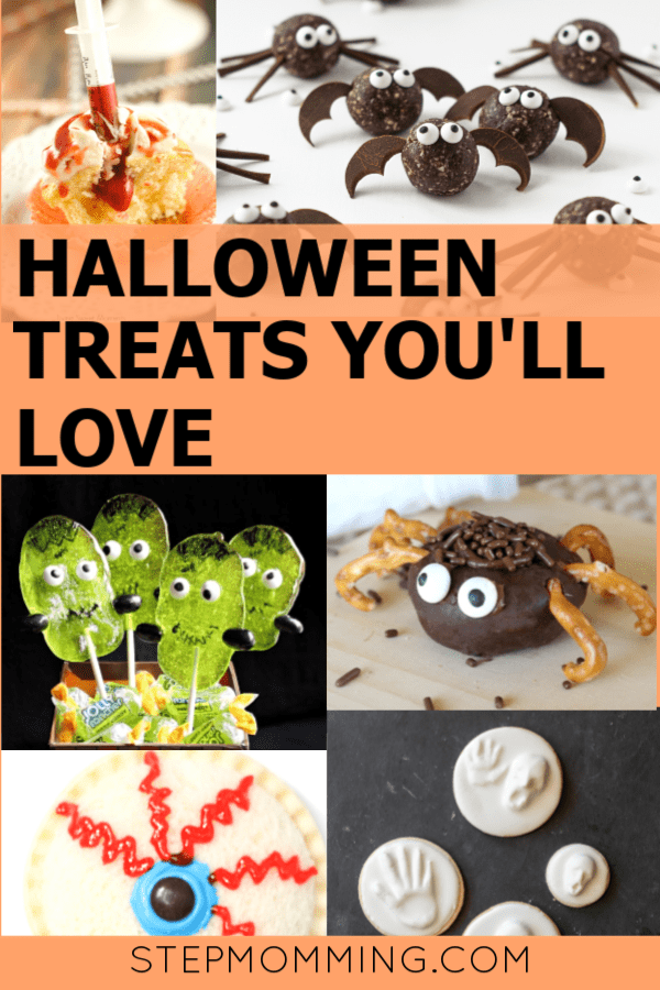 After scouring Pinterest for all of the fun Halloween treats, I finally found the best of the best! Have fun this fall by baking these fun Halloween treats! Some are spooky, some are sweet; some are complex, and others are simple! You'll love the variety and the creativity with these Halloween recipes! #halloweentreats #halloweenbaking