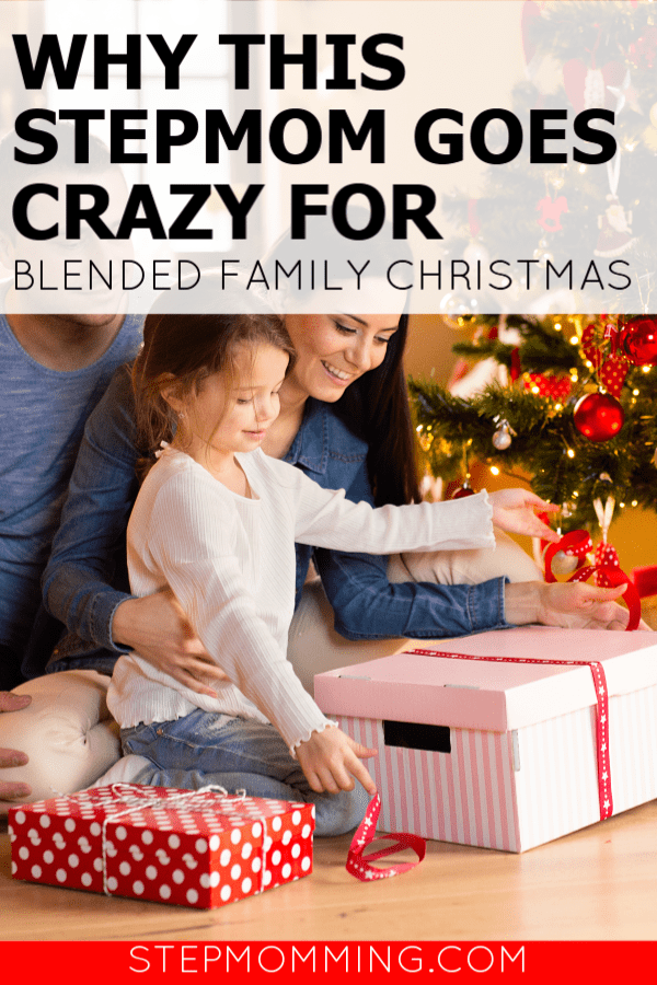 Why this Stepmom goes crazy for Blended Family Christmas! - I can't get enough of the holiday, despite unpredictable schedules and shared custody, Christmas is my favorite time of year with my stepfamily! #stepmomming #stepmom #blendedfamily #lifeafterdivorce