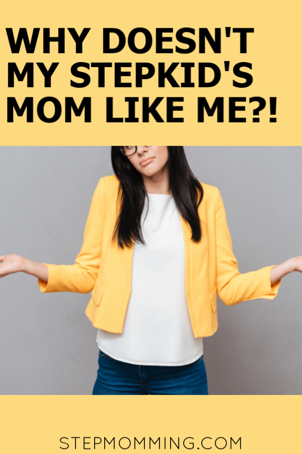Stepmom Problems: Wondering why the ex doesn't take you seriously? Or why she doesn't like you for no apparent reason? Here's where to start, stepmom! #stepmom #stepparenting #biomom