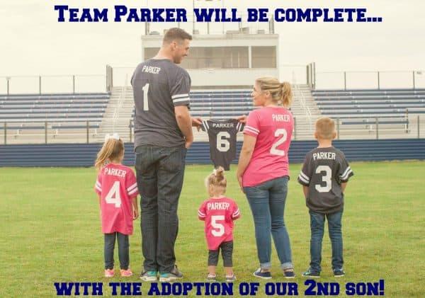 adoption pregnancy announcement