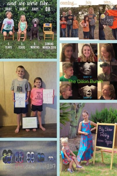 17 Clever Pregnancy Announcements with Siblings!